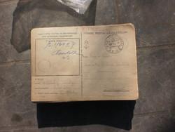 Tábori postailevelező lapok173db