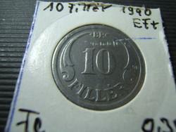 10 fillér 1940