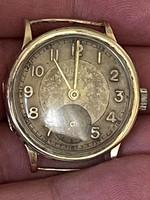 Eredeti régi es működőképes 14 kr arany Doxa karóra eladó!Ara:72.000.-