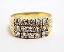 Köves arany gyűrű (ZAL-Au99784)