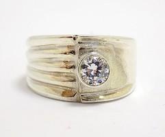 Köves ezüst gyűrű (ZAL-Ag96730)