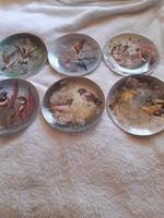 Porcelán Bradex madaras tányérok