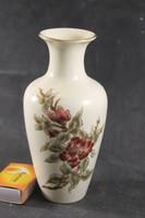 Zsolnay szignált orchideás váza 115