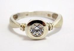 Köves ezüst gyűrű (ZAL-Ag96715)