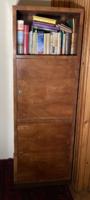 Art deco / bauhaus keskeny szekrény, bárszekrény