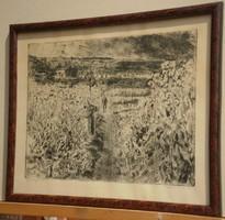 Aszódi Weil Erzsébet (1901-1976) : Mákföldön