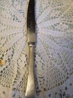 Régi ezüst nyelű solingen kés
