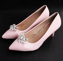 Esküvői, menyasszonyi, alkalmi cipődísz, cipőklipsz ES-CK27