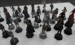 34 darab Star Wars sakk készlet De Agostini Figura 2013 Lucasfilm
