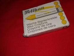 Retro PELIKAN sárga viasz szabászkréta  a képek szerinti állapot mennyiség