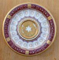 Paris empire porcelán 1800 k. Dávid csillag dekorral