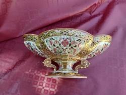 Zsolnay Perzsa dekoros asztalközép, kínáló. Bolti ár 1,85 millió ft.