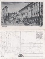 Gyöngyös Főtér kb1930 RK Magyar Hungary