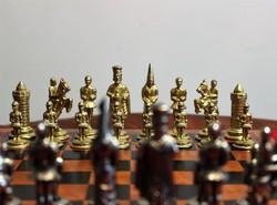 Királyos sakk készlet