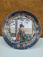 Valuable!!! Original satsuma porcelain plate