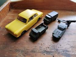 Retro autók, Taunus, szovjet fém autók. MIND MŰKÖDIK!