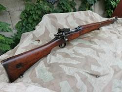 Angol I.vh hatástalanított P14 Enfield  puska szép állapotban
