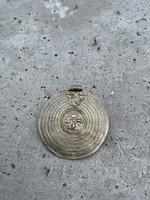 Aranyozott ezüst keleti medál