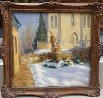 Idrányi Tibor (1896-1979): Téli fények