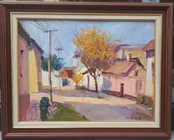 B. Tóth Edit: Utca sárga lombos fával