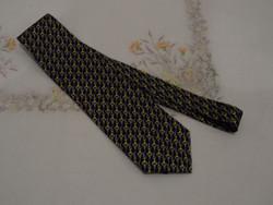 Lovas, kantáros selyem nyakkendő