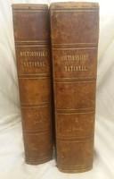 Bescherelle: Óriási, bőr, francia értelmezőszótár I-II. 1857