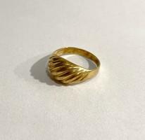 Csinos 18k arany gyűrű- 3,1g