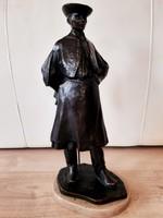 Beszédes János László: Hortobágyi csikós bronz szobor