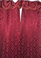 Régi selyembrokát függöny, bordűrrel