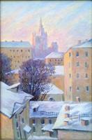 Festmény, Zvjagin, Moszkvai látép