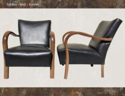 Diszkrét elegancia - art deco fotelpáros