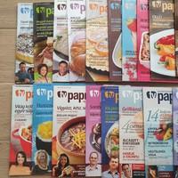 TV Paprika magazinok 23db: 2007 december-2009 október