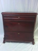 3 Mahogany chest of drawers