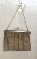 Beautiful silver theater bag 195 grams