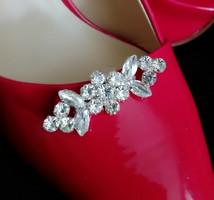 Esküvői, menyasszonyi, alkalmi cipődísz, cipőklipsz ES-CK24