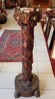 Fa posztamens, virágtartó, szobortartó