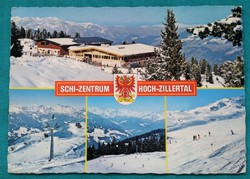 Ausztria,Tirol,Zillertal,használt képeslap