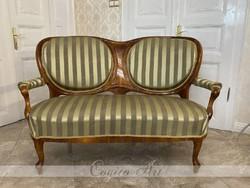 Osztrák Neobarokk kanapé / sofa ca. 1860