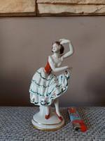Volkstedt balerina - ritka darab