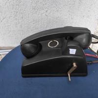 Antik bakelit telefon, különleges ritkaság ! Kurblis rendszerű !