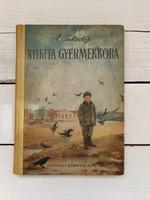 Tolsztoj: Nyikita gyermekkora_1955_ritka, régi ifjúsági regény