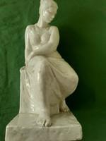 Porcelain statue of Jenő Kerényi