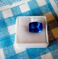 10.40Ct gyönyörű kék zafír