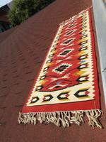 Kelim, kilim ( fali ) szőnyeg, falvédő 200 x 70 cm + rojt