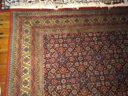 350x250 cm nagy perzsa vagy jellegű gyapjú szőnyeg antique wool rug carpet