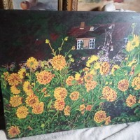 Festmény Virágoskert ! ( 2 )