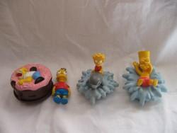 Gyűjtői eredeti retro Simpson figura csomag 4 db