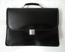 Blazes and anni new men's cowhide, rigid briefcase, bag