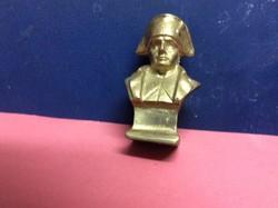 Napoleon sárgaréz büszt