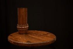 Mid Century réz Váza / Lignifer